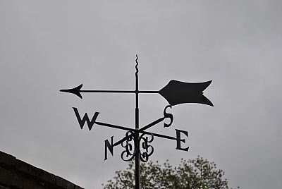 Arrow 1 weathervane