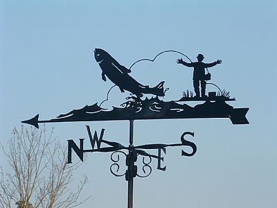 Big Catch weathervane