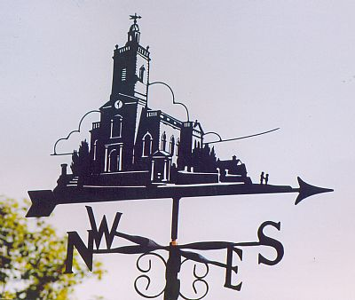 Blandford Church weather vane