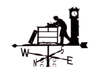 Cabinet Maker weather vane