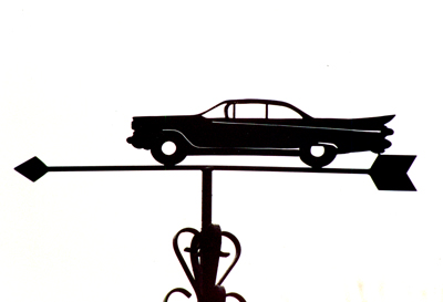Cadillac El Dorado weather vane