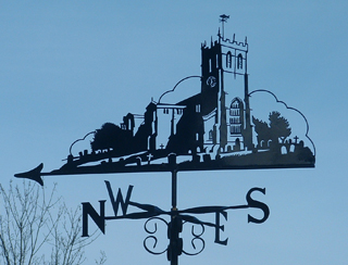 Christchurch Priory weathervane