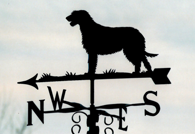 Irish Wolf Hound weather vane