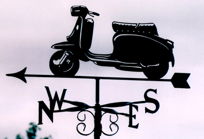 Lambretta weather vane