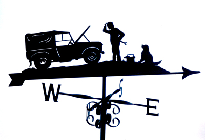 Landrover Series 1 weather vane