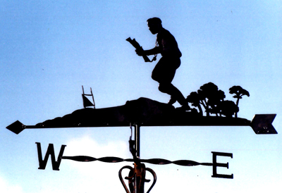 Orienteering weather vane