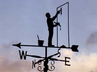 plasterer weather vane