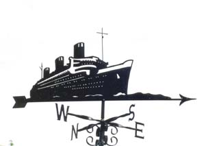 Queen Mary weather vane