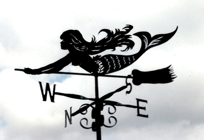 Sea Witch weather vane