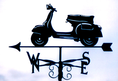 Vespa weathervane