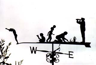 Active Family weather vane