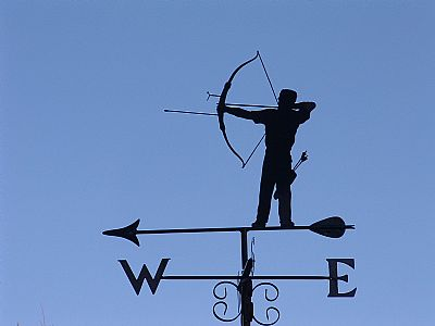 Archer weathervane