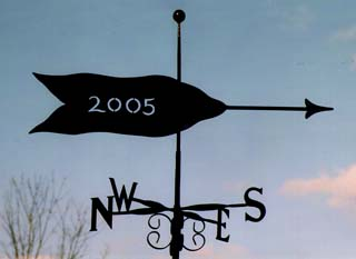Arrow 4 weathervane
