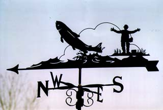 Big Catch weather vane