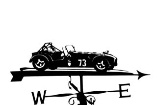Caterham weather vane