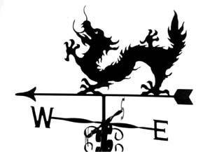 Chinese Dragon weathervane