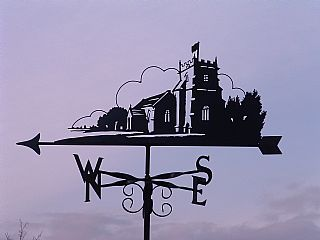 Christchurch Priory weather vane