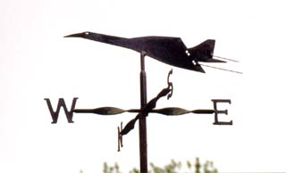 Concorde weather vane