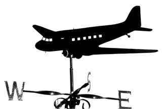 Dakota weather vane