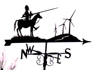 Don Quixote weathervane