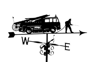 Fire Engine weather vane