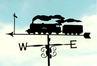 Flying Scotsman weathervane