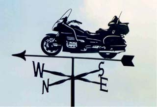 Goldwing weather vane