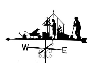 Greenhouse weathervane