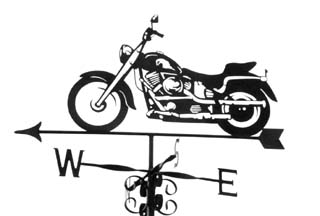 Harley weathervane