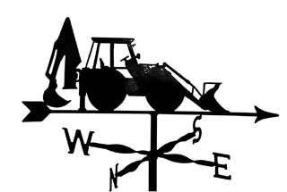J.C.B. weather vane