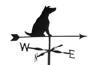 Jack Russel weather vane