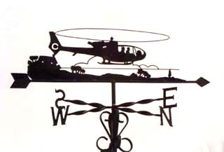 Gazelle weather vane