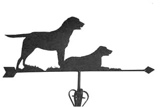 Labradors weather vane