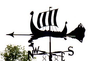 Long Boat weather vane