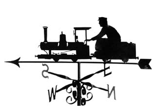Narrow Gauge weathervane