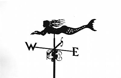 mermais weathervane