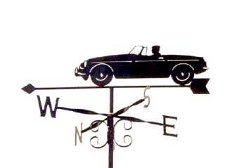 MGB weather vane
