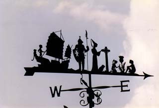 Round the World weather vane