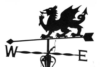 Welsh Dragon weather vane