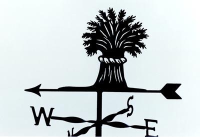 Wheatsheaf weather vane