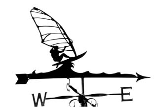 Windsurfer B weathervane